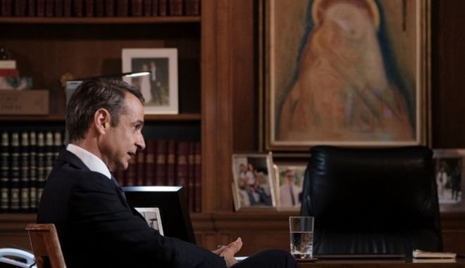 Συνέντευξη Κυριάκου Μητσοτάκη στον Νίκο Χατζηνικολάου