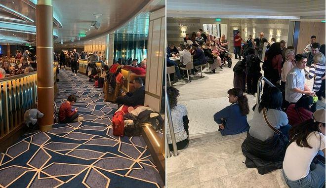 Κοροναϊός: Συναγερμός στην Ιταλία - Εγκλωβισμένοι σε κρουαζιερόπλοιο 6.000 επιβάτες