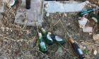 """""""Οπλοστάσιο"""" με βόμβες μολότοφ σε εγκαταλελειμμένο κτίριο στα Εξάρχεια"""