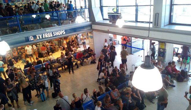Αεροδρόμιο Κω όπως είναι σήμερα με τα έργα της Fraport να έχουν ξεκινήσει