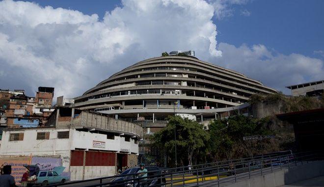 Το κτίριο των μυστικών υπηρεσιών στο Καράκας, όπου κρατούνταν ο Τζόσουα Χολτ