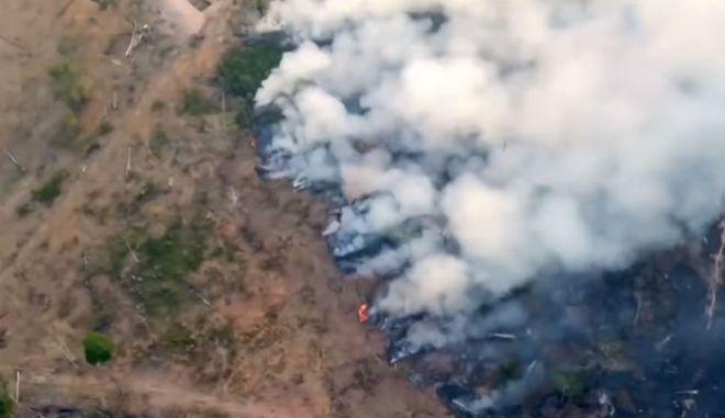 """Η φωτιά στον Αμαζόνιο """"καίει"""" τον Μπολσονάρου - Ευρωπαϊκό μέτωπο εναντίον του"""