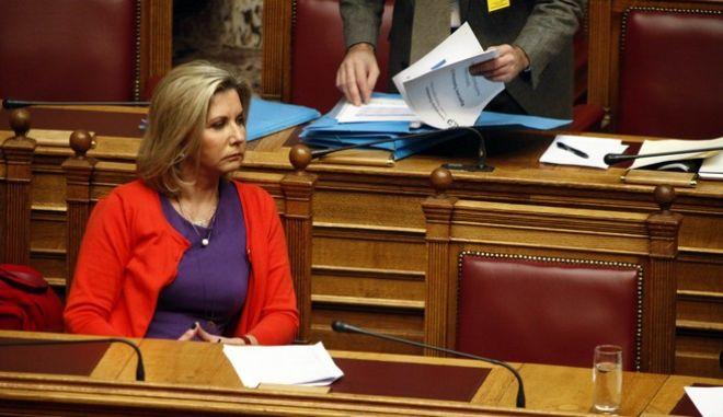 Τρίτη ημέρα της συζήτησης για τον προϋπολογισμό στην Βουλή την Πέμπτη 5 Δεκεμβρίου 2013.  (EUROKINISSI/ΓΙΩΡΓΟΣ ΚΟΝΤΑΡΙΝΗΣ)