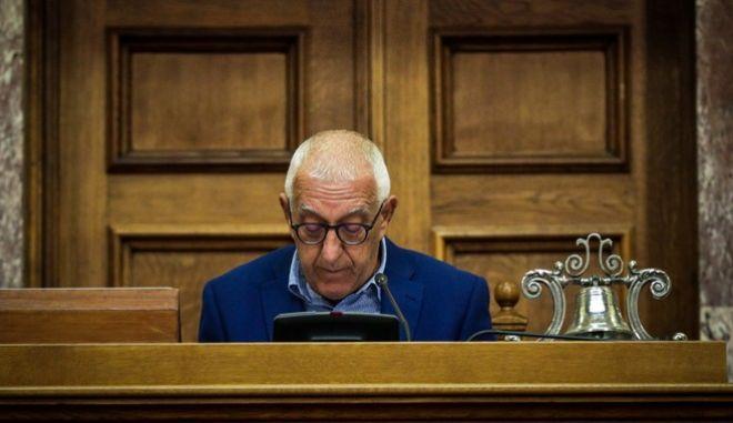 Ο Α΄αντιπρόεδρος της Βουλής Νικήτας Κακλαμάνης