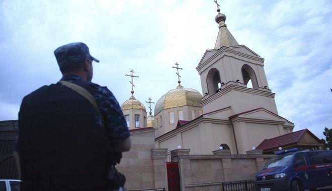 Μετά την επίθεση σε ορθόδοξη εκκλησία στο Γκρόζνι