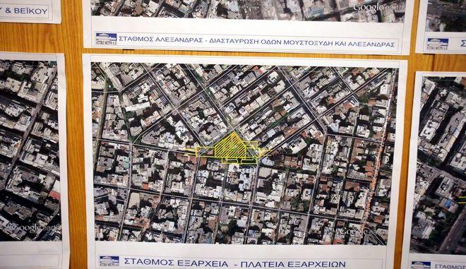 Παρουσίαση της νέας γραμμής 4 του μετρό τον Σεπτέμβριο του 2014