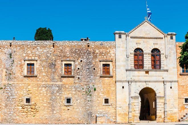 Η Ιερά Μονή Αρκαδίου στην Κρήτη