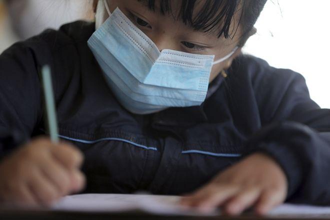 Μαθητής στο Νεπάλ.