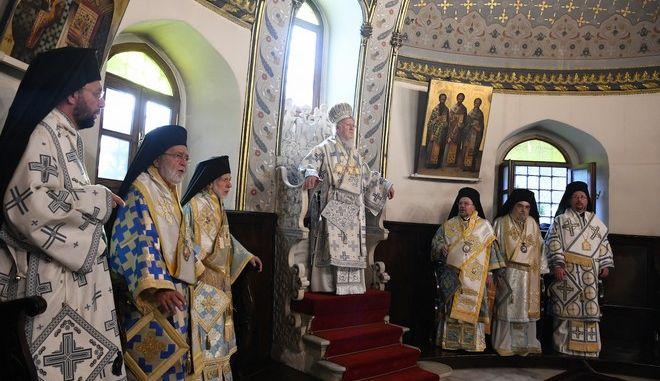 Βαρθολομαίος: Ιστορική απόφαση της Εκκλησίας της Ελλάδος για την Ουκρανία