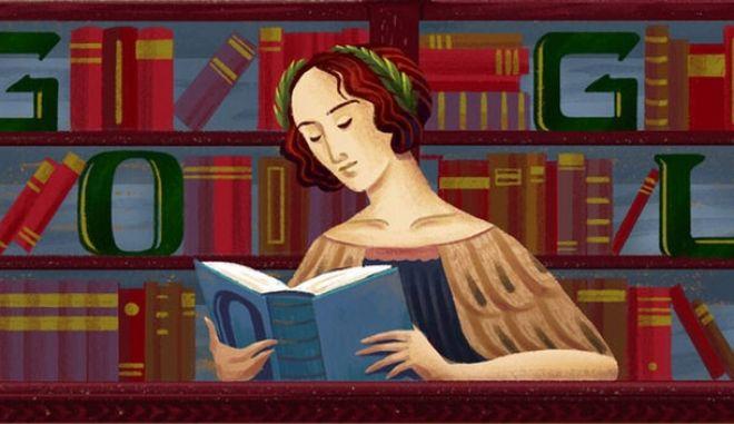 Η Google τιμά το 7γλωσσο θαύμα, Ελένα Κορνάρο Πισκόπια