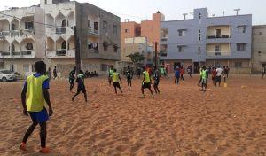 Ερασιτεχνική ομάδα ποδοσφαίρου στο Ντακάρ