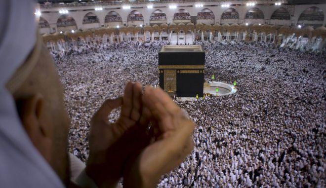 Προσευχή για το Ραμαζάνι στην Μέκκα