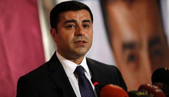 Εισαγγελική έρευνα σε βάρος του αρχηγού του HDP, Ντεμιρτάς