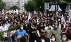 Πορεία κατά του εργασιακού νομοσχεδίου