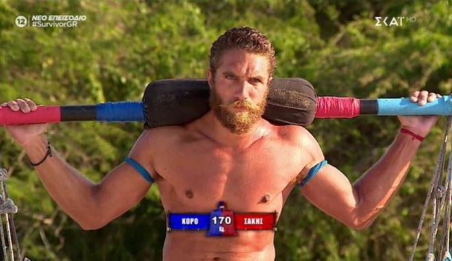 Ο Γιώργος Κορόμι στο Survivor 4