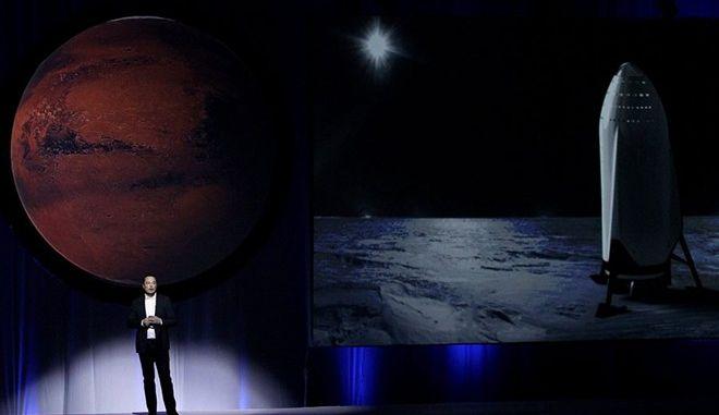 Αυτός είναι ο δισεκατομμυριούχος που θέλει να ιδρύσει αποικία στον Άρη