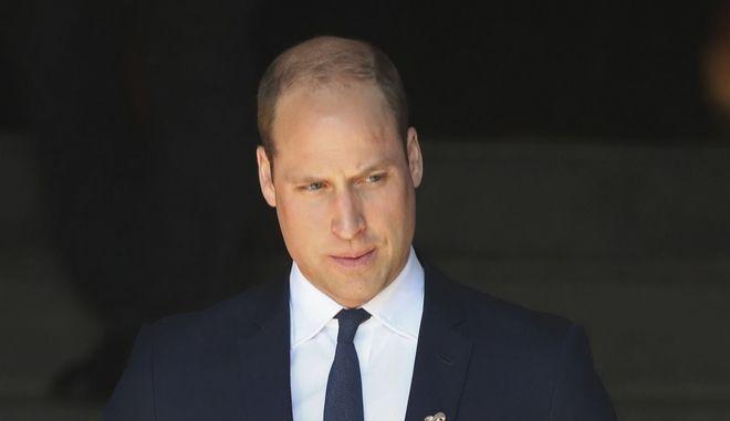 Ο βρετανός πρίγκιπας Ουίλλιαμ