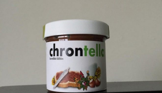 Chrontella: Μια πραλίνα φουντουκιού εμπλουτισμένη με μαριχουάνα