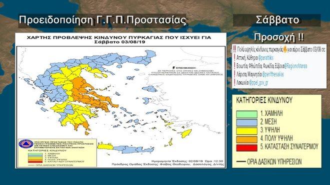 Κορύφωση της ζέστης το Σάββατο - Ισχυρες καταιγίδες στη βόρεια Ελλάδα