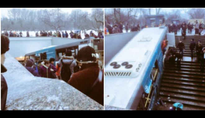 Μόσχα: Τουλάχιστον 5 νεκροί και 15 τραυματίες από 'εισβολή' λεωφορείου σε υπόγεια διάβαση