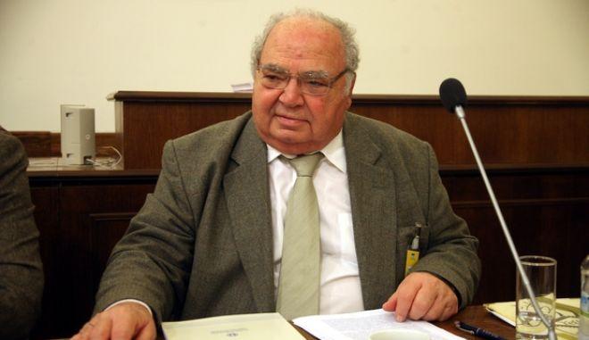 ΑΘΗΝΑ-ΒΟΥΛΗ-Ειδική Μόνιμη Επιτροπή Θεσμών και Διαφάνειας, με θέματα ημερήσιας διάταξης: Ακρόαση του Γενικού Επιθεωρητή Δημόσιας Διοίκησης, Λέανδρου Ρακιντζή (φωτογραφία).(EUROKINISSI-ΑΛΕΞΑΝΔΡΟΣ ΚΑΤΩΜΕΡΗΣ)