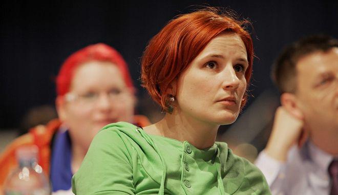 Η Katja Kipping του Die Linke