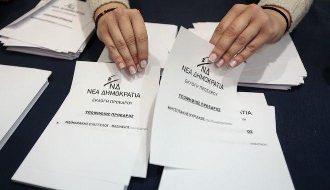 Ο Κυριάκος Μητσοτάκης, είναι ο νέος πρόεδρος της Νέας Δημοκρατίας