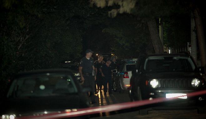 Νεκρή εντοπίστηκε το απόγευμα της Τετάρτη 19 Σεπτεμβρίου 2018,  33χρονη γυναίκα, μεσα στο αυτοκίνητό της, στο γκαραζ της πολυκατοικίας όπου διέμενε, στην Κηφισιά. (EUROKINISSI/ΧΡΗΣΤΟΣ ΜΠΟΝΗΣ)