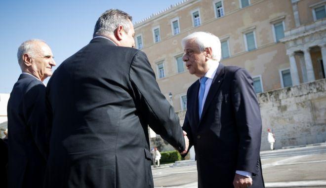 Π. Παυλόπουλος και Π. Καμμένος