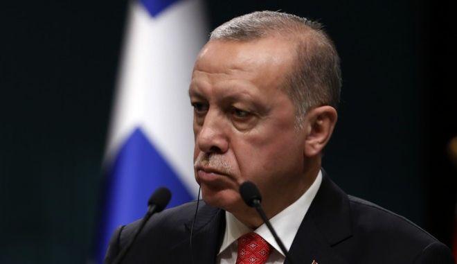 O πρόεδρος της Τουρκίας Ταγίπ Ερντογάν