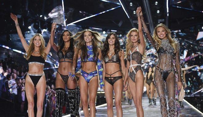 Επίδειξη της Victoria's Secret στη Νέα Υόρκη τον Νοέμβριο του 2018