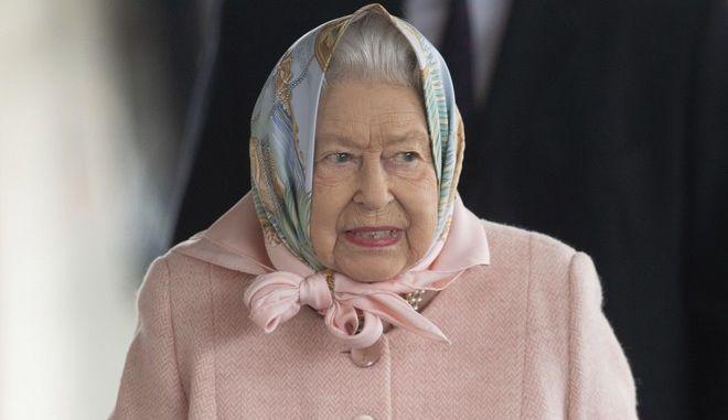 H βασίλισσα Ελισάβετ