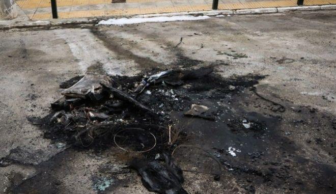 Καμμένο βρέθηκε το αυτοκίνητο που πιθανόν χρησιμοποίησαν οι δράστες της επίθεσης στον ΣΚΑΪ