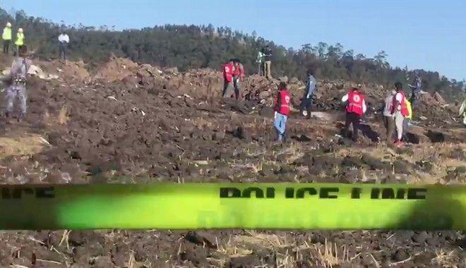 Το σημείο όπου συνετρίβη το αεροσκάφος της Ethiopian Airlines