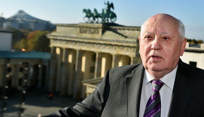 Ο Μιχαήλ Γκορμπατσόφ, τελευταίος ηγέτης της Σοβιετικής Ένωσης