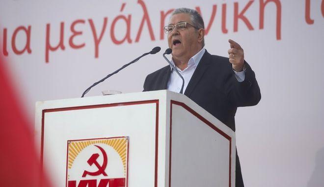 """Κουτσούμπας: """"Προχωράμε για μια μεγάλη νίκη του λαού με ισχυρό ΚΚΕ παντού"""""""
