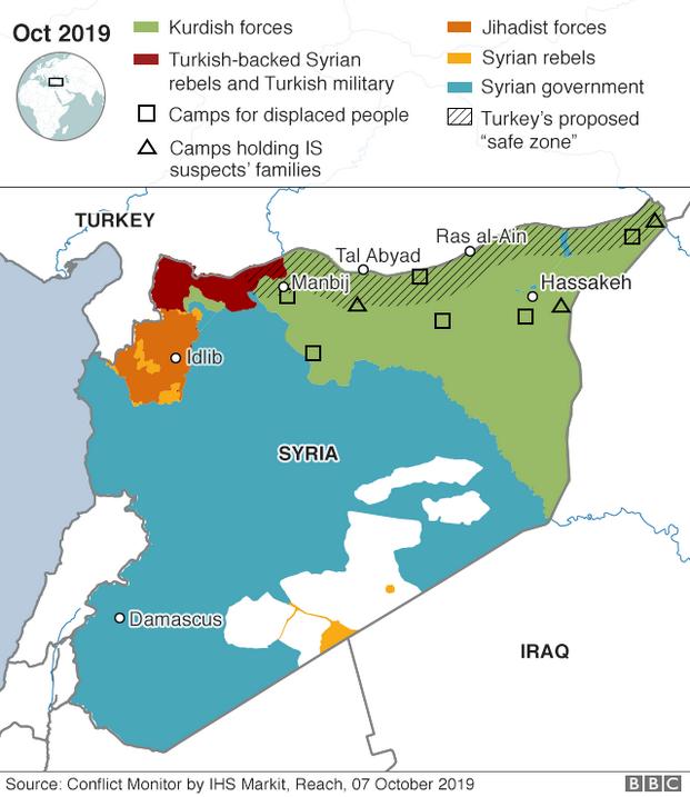Συμφωνία Συρίας - Κούρδων: Η κίνηση που αλλάζει τα δεδομένα στην τουρκική εισβολή