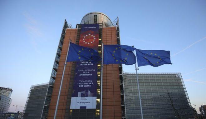 Το αρχηγείο της Ευρωπαϊκής Ένωσης στις Βρυξέλλες (AP Photo/Olivier Matthys)