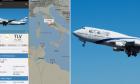 Απίστευτη εικόνα στον ουρανό της Κύπρου σε πτήση αεροσκάφους