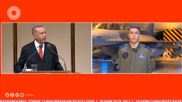 Ερντογάν εκτός ορίων: Ζωντανή σύνδεση σε ομιλία του με φρεγάτα στην Αν. Μεσόγειο