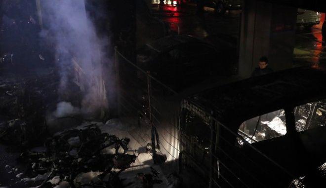 Μεγάλη πυρκαγιά στο Παρίσι