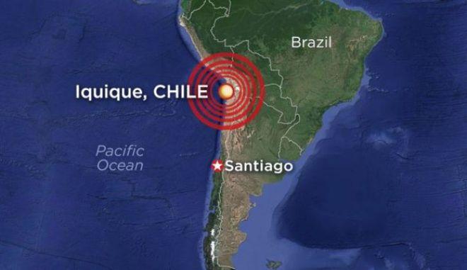 Σεισμός 6,2 Ρίχτερ στη Χιλή