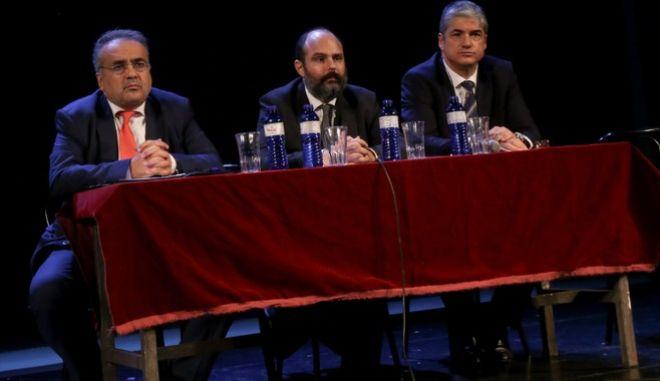 Φωτογραφία από Συνεδρίαση της Ολομέλειας των Δικηγορικών Συλλόγων της Ελλάδας
