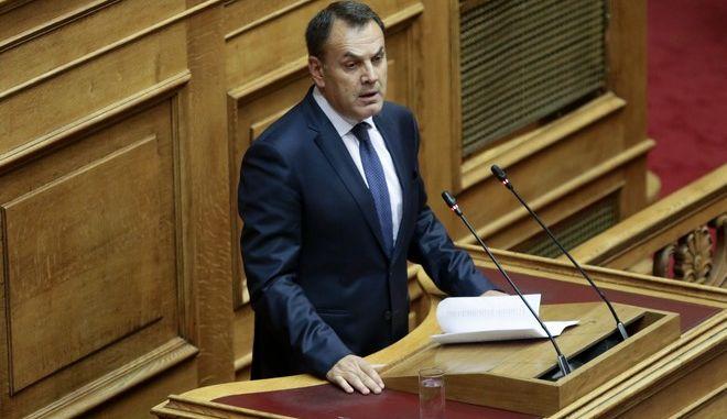 O Νίκος Παναγιωτόπουλος