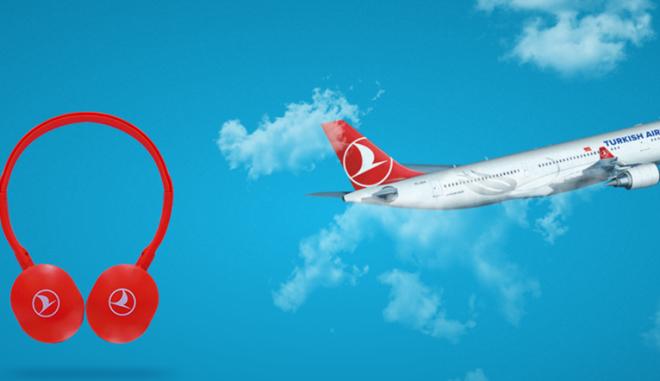 Η Turkish Airlines προσφέρει ειδικά ακουστικά υψηλής ποιότητας