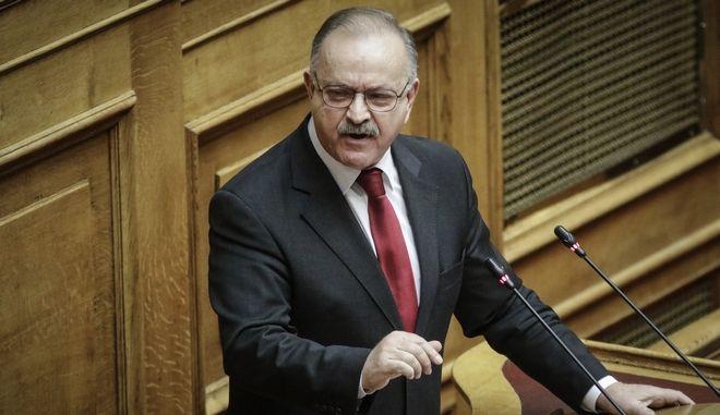 Ο βουλευτής Α' Θεσσαλονίκης της Νέας Δημοκρατίας Δημήτρης Σταμάτης