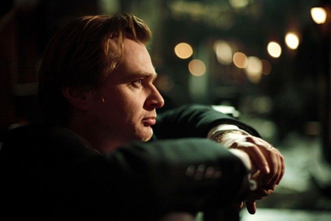 Film: The Prestige.     (2006) Director CHRISTOPHER NOLAN on the set of The Prestige, distributed by Warner Bros. Pictures.