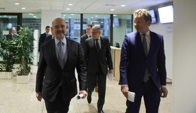 Eurogroup finance ministers meeting at the European Council in Brussels, Belgium on Mar. 20, 2017. /          20 , 2017
