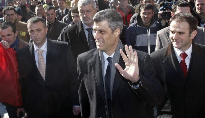 Ο πρωθυπουργός του Κοσόβου Ραμούς Χαραντινάι