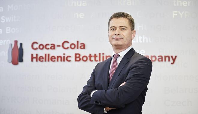 Ο Zoran Bogdanovic στο τιμόνι της Coca-Cola HBC